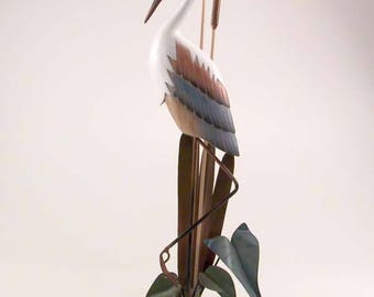 Blue Heron Table Sculpture CW100