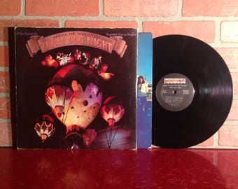 Three Dog Night Around The World With Vinyl Record Album LP 1973 Gatefold Die Cut Live Concert Classic Rock Music Vintage