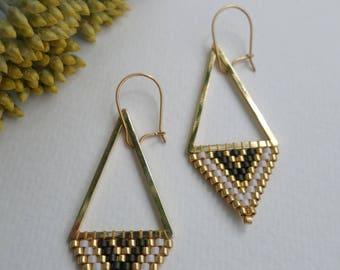 """""""Mirror"""" earrings"""