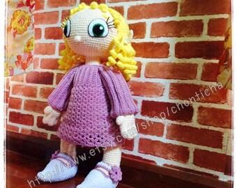 Elfie 22 inches - PDF amigurumi crochet pattern