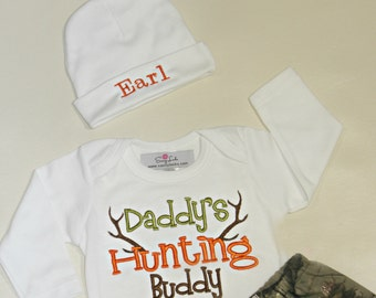 Baby Deer Hunting Baby Boy Newborn Take Home Outfit Stag Hunting Baby Outfit Hunters Camo Outfit Baby Boy Clothes Newborn Boy up to 5T