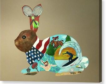 Foo Foo Bunnie's  Summer Bunny