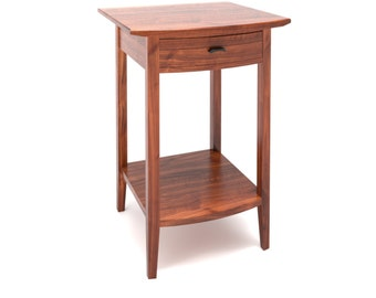 Curved Front Side Table