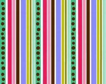 04200 - Lila Tueller for  Riley Blake Isabella Multi dot stripe - 1/2 yard