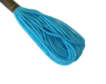 1 skein 8 m stranded Mercerized cotton - blue 149