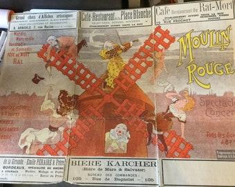 Rare original Moulin Rouge Programme