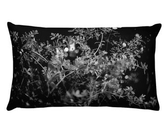 Reversible Micro Foliage Rectangular Pillow, 1:100 Limited Edition