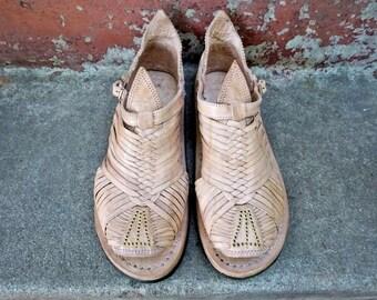 TAMAZULA FINITO STYLE mexican sandals men's huaraches mexicanos authentic leather cuero autentico handmade hancrafted