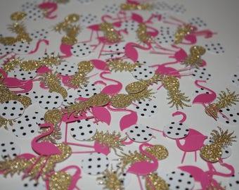Flamingo Confetti~Flamingo Party Decor~Flamingo Pineapple Confetti~Flamingo Party~Flamingo Decor~Pineapple Decor~Pineapple~Flamingle~PD001