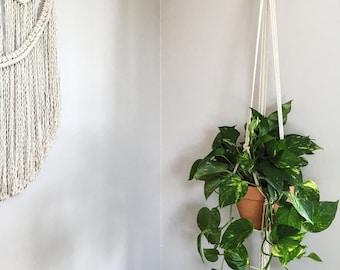 Macrame Plant Hanger / Hanging Planter / Plant Hanger