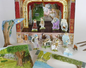 Hansel and Gretel - Story Pack  for Paper Theatres
