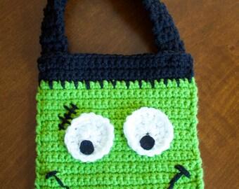 Frankenstein's Monster Trick-or-Treat Kid's Bag