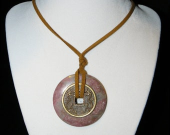 Mystic Necklace-Rhodonite-Love
