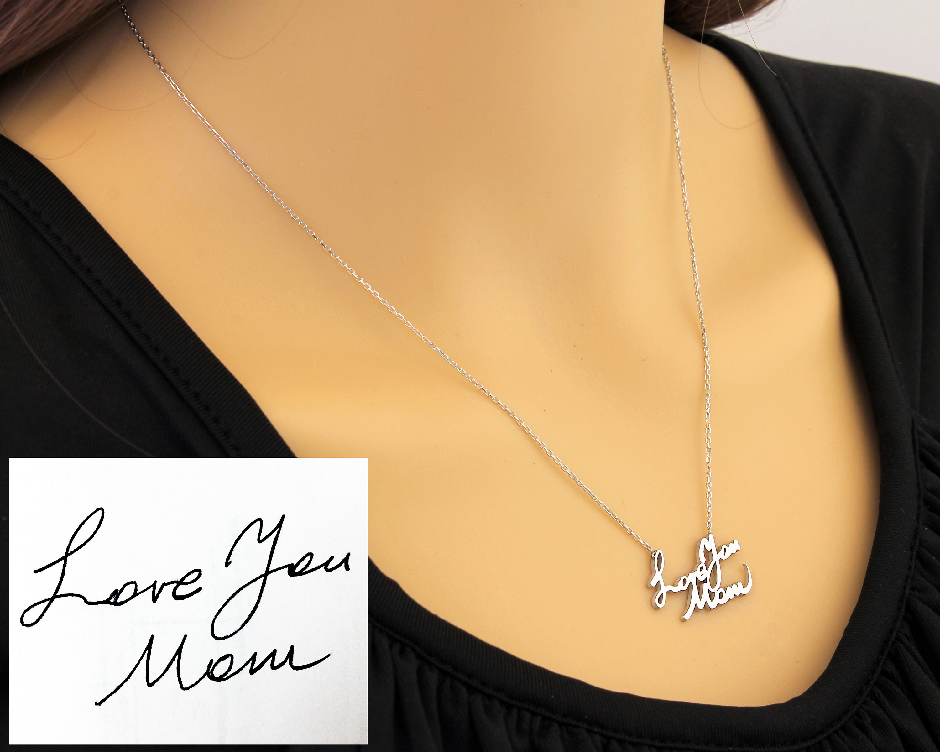 ashes with jewelry products and cremation photo personalized memorial necklace charm urn keepsake