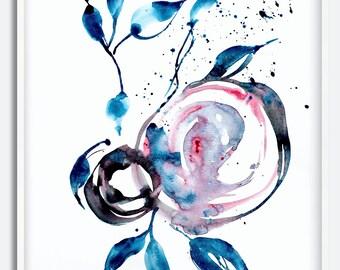 Watercolor Wall art print, Art print, Abstract Art print, Watercolor modern art, Abstract modern art, Art Print