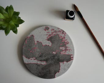 Moon embroidery