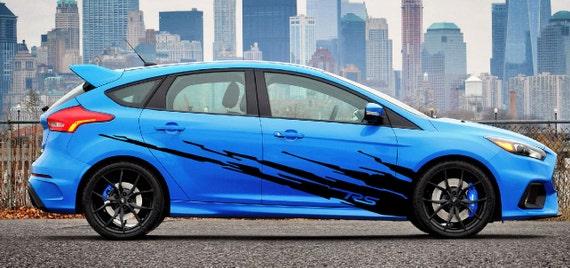 2013 2014 2015 2016 2017 ford focus rs splash decal kit
