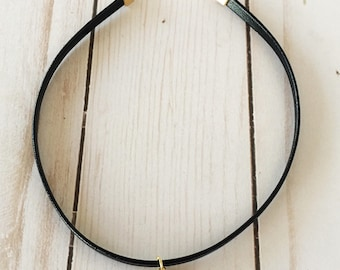 Black Leather Chokers | Leather Chokers