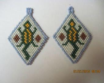 Native Style Desert Lizard Earrings......1549h...Pick Your Earring Type/Style