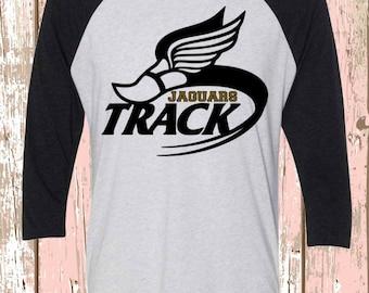 Jaguar Track Raglan/Shirt Track and Field