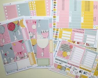 The Great Race BIG Happy Planner Sticker Kit
