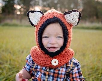 Fox Cowl Hat
