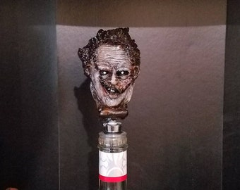 Leatherface bottle topper texas chainsaw massacre