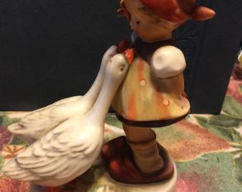 "RARE Hummel porcelain figurine ""Goose Girl"" #47"