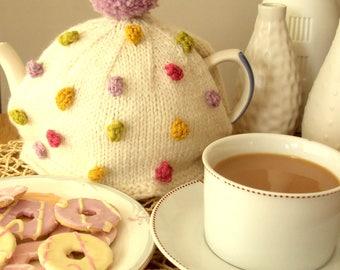 Bobbles Tea Cosy Pattern