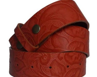 Handmade Strap Leather Belt for women