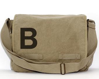Messenger Bag, Monogram Bag, Personalized Bag, Initial, Crossbody, Personalized Diaper Bag, Groomsmen Gift, Men & Women Bag, Messenger Bag