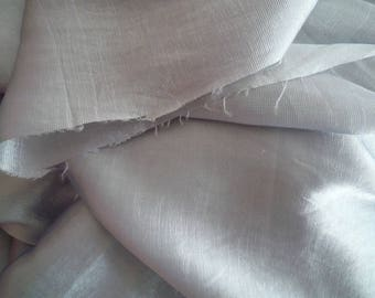 Satin effect 150 * 170 cm light grey polyester fabric