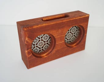 Wooden Smartphone Amplifier / Passive Speaker - Gunstock