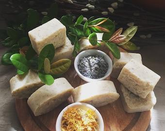 Organic Olive Oil, Lavender, Calendula