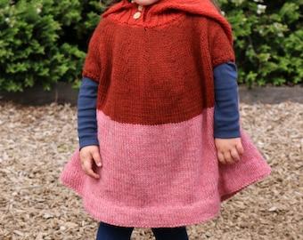 Little Hoodycho digital knitting pattern