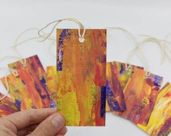 Hand Painted Gift Tags - Pack of 10