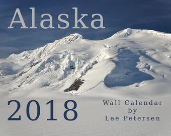 2018 Alaska Wall Calendar