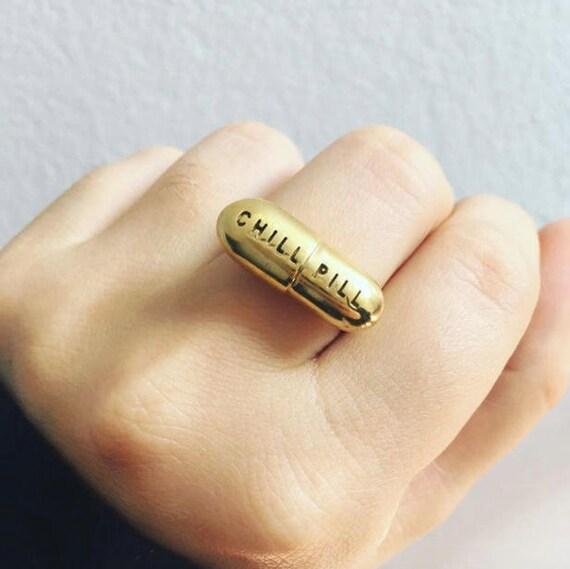 Chill Pill Ring