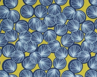 1 Yard Botanique LILY PADS JD080 Deep Water Flower Floral Free Spirit Quilting Sewing Fabric