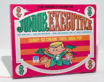 Junior Executive Game from Whitman 1969 COMPLETE