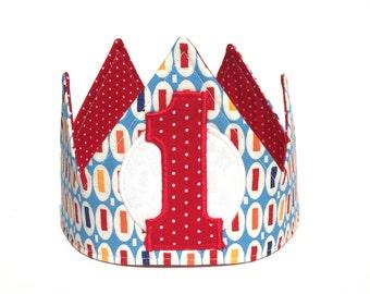 Boy First Birthday Crown - First Birthday Crown - 1st birthday - First Birthday Hat