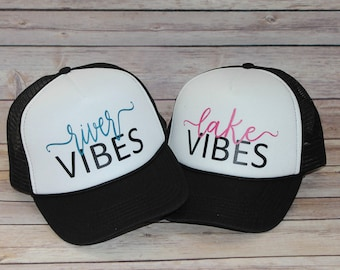 Lake and River Vibes Toddler Trucker Hat