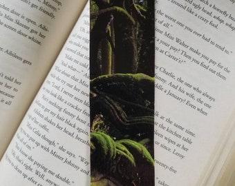 Rainforest bookmark, hand made, beautiful scenery.
