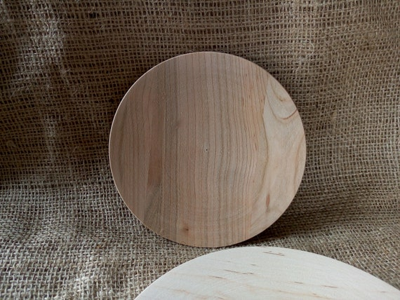 Unfinished Wooden Plate Wooden Shape Unpainted Decoupage Natural Wood Eco Friendly gifts Medium Wood Plates Wood Kitchen Decor from OnlyEcoFriendlyUA on ... & Unfinished Wooden Plate Wooden Shape Unpainted Decoupage Natural ...