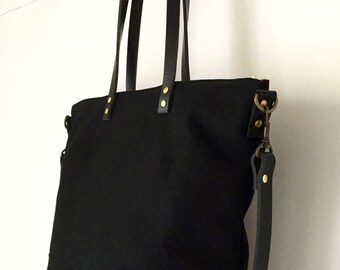 """CARRIER CROSSBODY TOTE 
