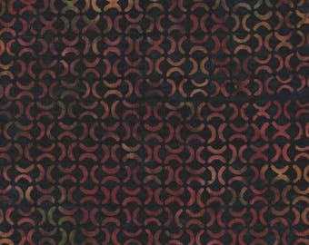 Hoffman Fabrics Bali Batiks 2977 240 Singapore Broken Circles By The Yard