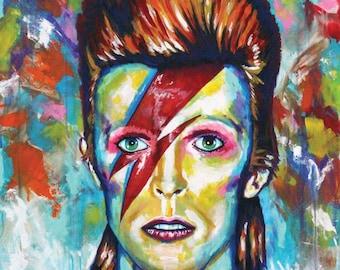 David Bowie as Ziggy Stardust, digital download, print file, instant download