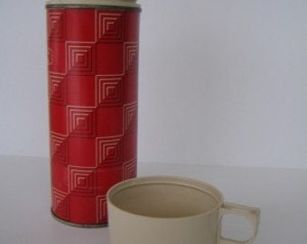 Red Icy Hot Thermos