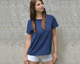 Hemp jersey T-shirt