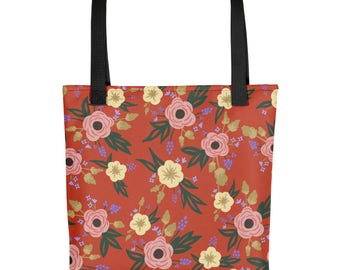 Lucille Print Tote bag